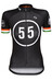 Bioracer EF 55 Pro Race Koszulka kolarska Kobiety czarny